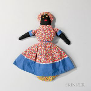 Cloth Topsy-Turvy Doll
