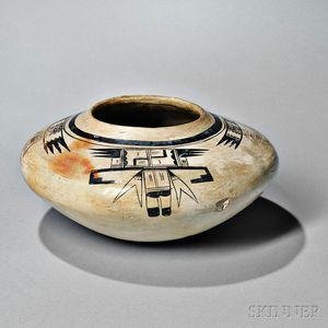 Hopi Painted Seed Jar
