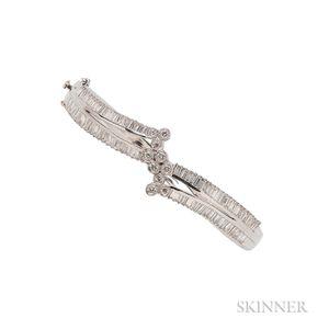 18kt White Gold and Diamond Bracelet