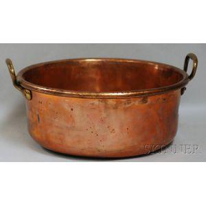 Large Copper Broiler Pan