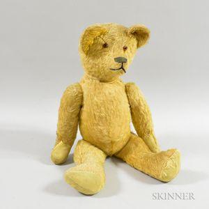 Large Early Mohair Teddy Bear
