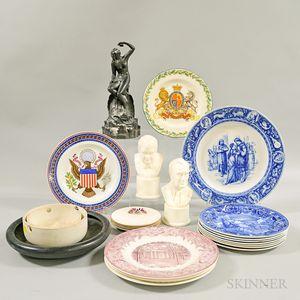 Twenty-three Mostly Wedgwood Ceramic Items