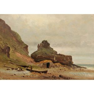 Charles Henry Gifford (American, 1839-1904)      The Northern Coast of Ireland