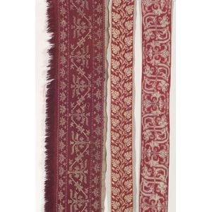 Three European Embroidered Textiles