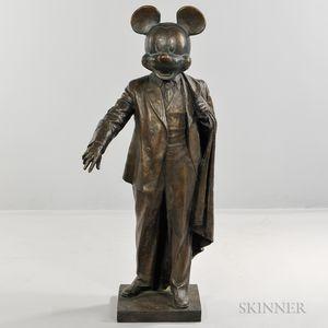 Alexander Kosolapov (Russian/American, b. 1943)      Mickey-Lenin