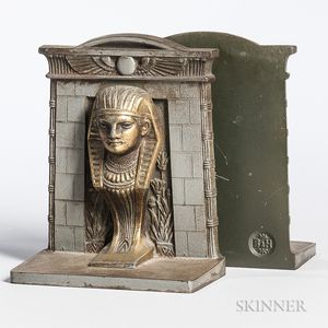 Pair of Egyptian Revival Bookends