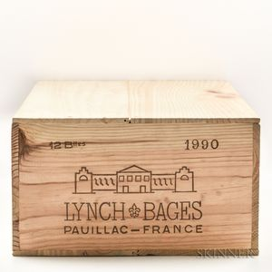 Chateau Lynch Bages 1990, 12 bottles (owc)