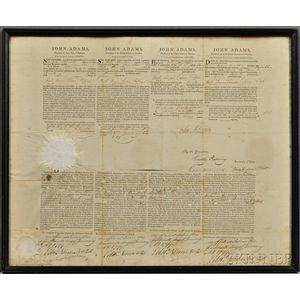 Adams, John (1735-1826) Four Language Ship