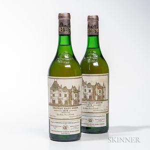 Chateau Haut Brion Blanc 1979, 2 bottles