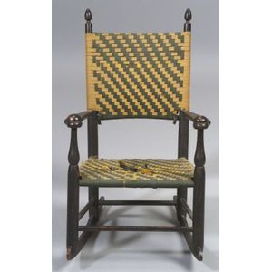 Shaker Production No. 0 Child's Armed Rocking Chair