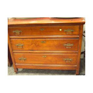 Late Victorian Maple Bureau.