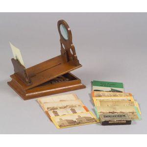 Stereographoscope, Stereoscopic Views and Autochromes