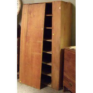 Country Pine One-Door Cupboard