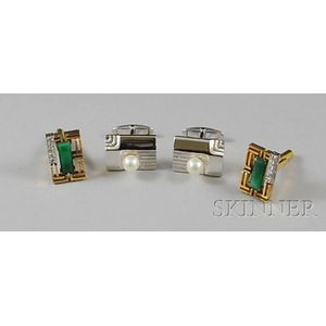Two Pairs of Cuff Links