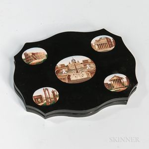 Grand Tour Micromosaic Paperweight