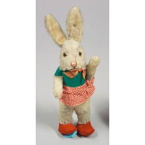 Steiff Mohair Dressed Rabbit