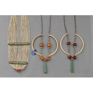 Three Bead Necklaces, Murdock