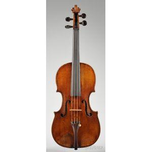 Italian Violin, Mantua School, c. 1780