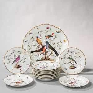 Meissen Porcelain Bird Service