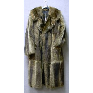 Mans Raccoon Coat.