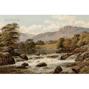 Thomas Spinks (British, active 1872-c. 1907)      River Landscape