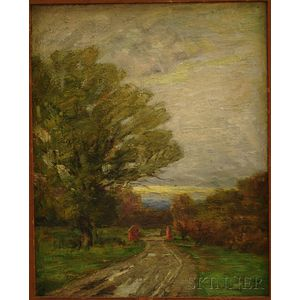 Katherine Allmond Hulbert (American, 1859-1939)      Country Lane