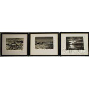 John Worthington Gregory (American, 1903-1992)      Three Cape Cod Scenes.