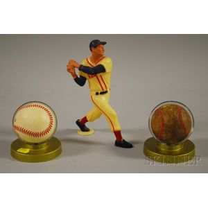 Three Vintage Baseball Collectibles