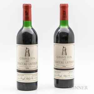 Chateau Latour 1969, 2 bottles