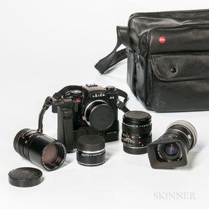 Leica R4 Camera and Lenses