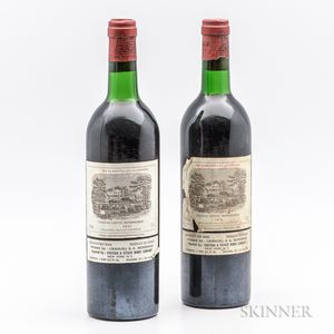 Chateau Lafite Rothschild 1975, 2 bottles
