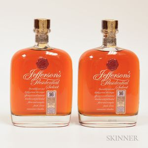 Jeffersons Presidential Select 16 Years Old, 2 750ml bottles