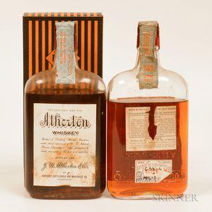 Atherton 12 Years Old 1917, 2 pint bottles (1 oc)