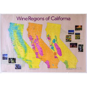 Wine Posters of the World, 5 posters