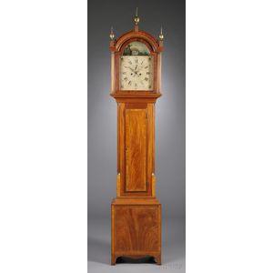 James Doull Mahogany Tall Clock