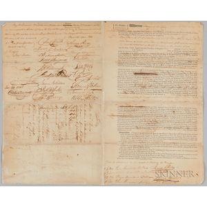 Insurance Document for the Ship John B. James