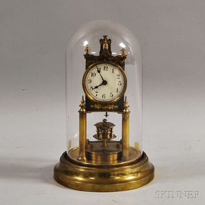 Gustave Becker 400-day Clock