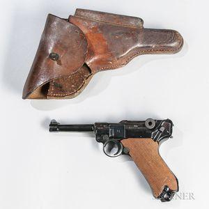 Mauser BYF-42 P.08 Luger Semi-automatic Pistol