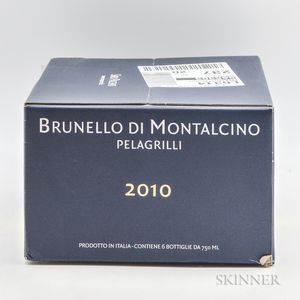 Siro Pacenti Brunello di Montalcino Pelagrilli 2010, 6 bottles (oc)