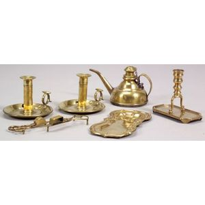 Seven Brass Lighting Related Items