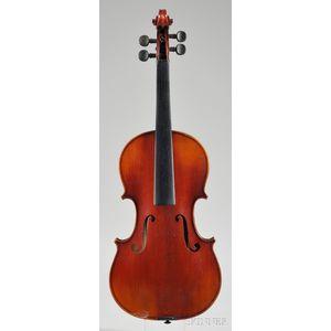 French Violin, Marc Laberte Workshop, Mirecourt, c. 1920