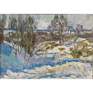 Felicie Waldo Howell (American, 1897-1968)      Winter Landscape