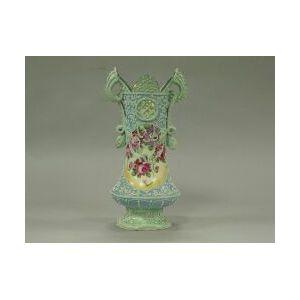 Japanese Moriageware Porcelain Mantel Vase.