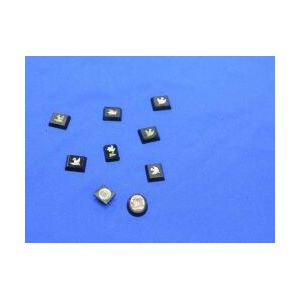 Nine Small Italian Micro-Mosaic Plaques and Buttons.