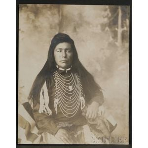 Photograph of a Northwest Indian