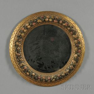 Gilded and Painted Mirror