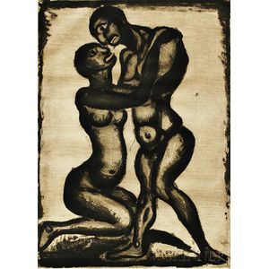 Georges Rouault (French, 1871-1958)      Noces