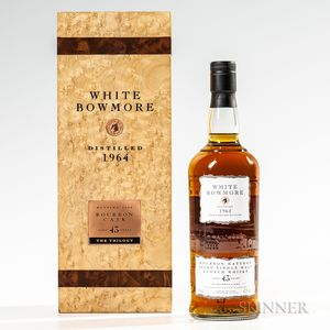 White Bowmore 43 Years Old 1964, 1 750ml bottle (pc)