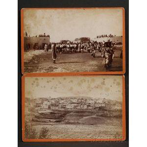Two Photographs of Southwest Pueblos