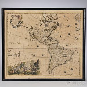 North America, Two Maps.